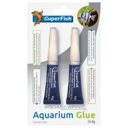 Glue aquascaping
