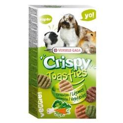 Crispy Toasties Légumes 150 gr