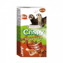 Crispy Toasties Poulet + Boeuf